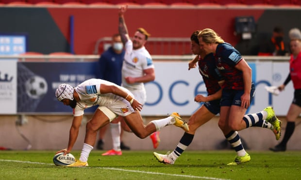 Sam Skinner try sparks Exeter victory against Bristol in battle of top two